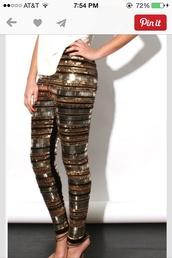 pants,sparkle,bronze sparkle,gold sparkle,black sparkle,embellished pants,newcrystalwave,newcrystalwavetights,newcrystalwavebling,black,gold sequins,leggings,tights,sequins,bling,sequin pants,embellished,new year's eve