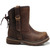 ROMWE | Retro Style Brown Ankle Boots, The Latest Street Fashion