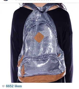 bag silver sequins sequins glitter silver glitter backpack glitter backpack sequins backpack silver backpack