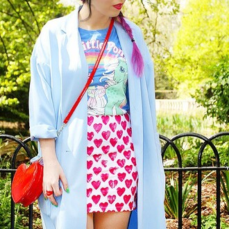 skirt batoko heart love cool summer friendly friends blogger style batoko.com www www.batoko.com