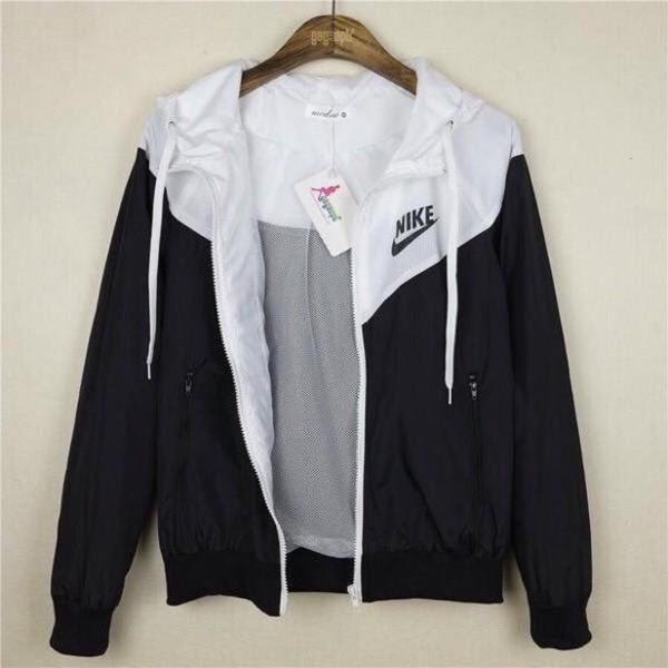 nike jacket girls black and white   Spin Creative
