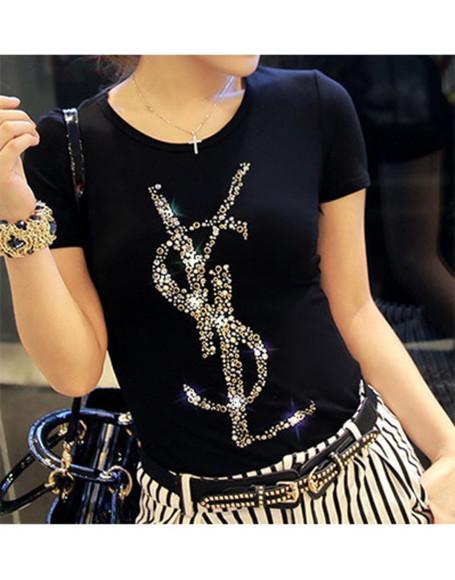 ysl yves saint laurent brand shirt luxury tshirt, ysl t-shit