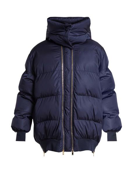 jacket quilted dark blue dark blue