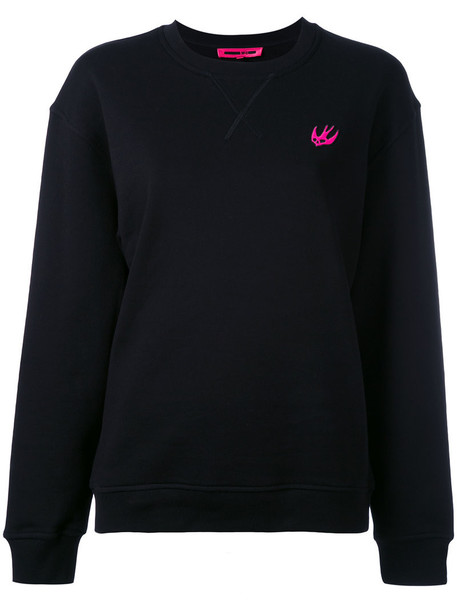 McQ Alexander McQueen sweatshirt women cotton black sweater