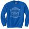Stone chamber sweatshirt