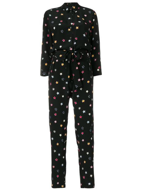 Chinti & Parker jumpsuit women black silk