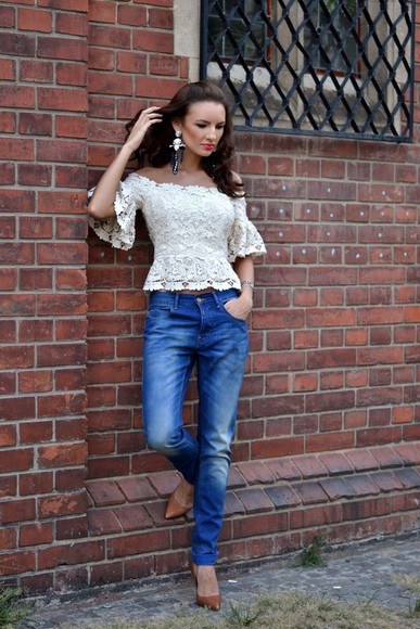 my silk fairytale shoes bag blouse jewels jeans