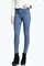 Lara super skinny mid blue tube jeans