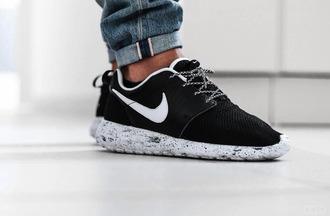 nike sneakers marble shoes nike nike shoes roshe runs