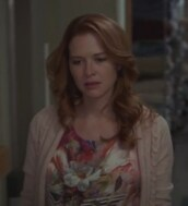 cardigan,silk,top,april kepner,grey's anatomy,sarah drew,floral