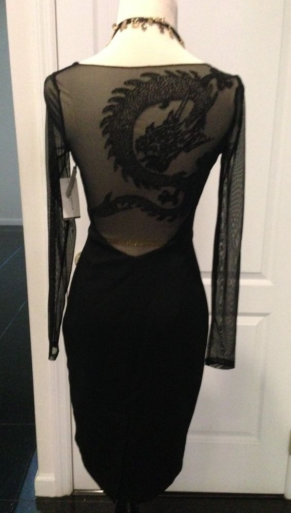 Nwt alexia admor sheer back dress ,size xs