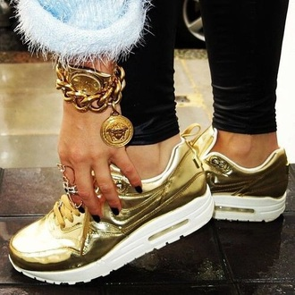 shoes gold air max nike liquid gold nike air max 1 air max liquid gold