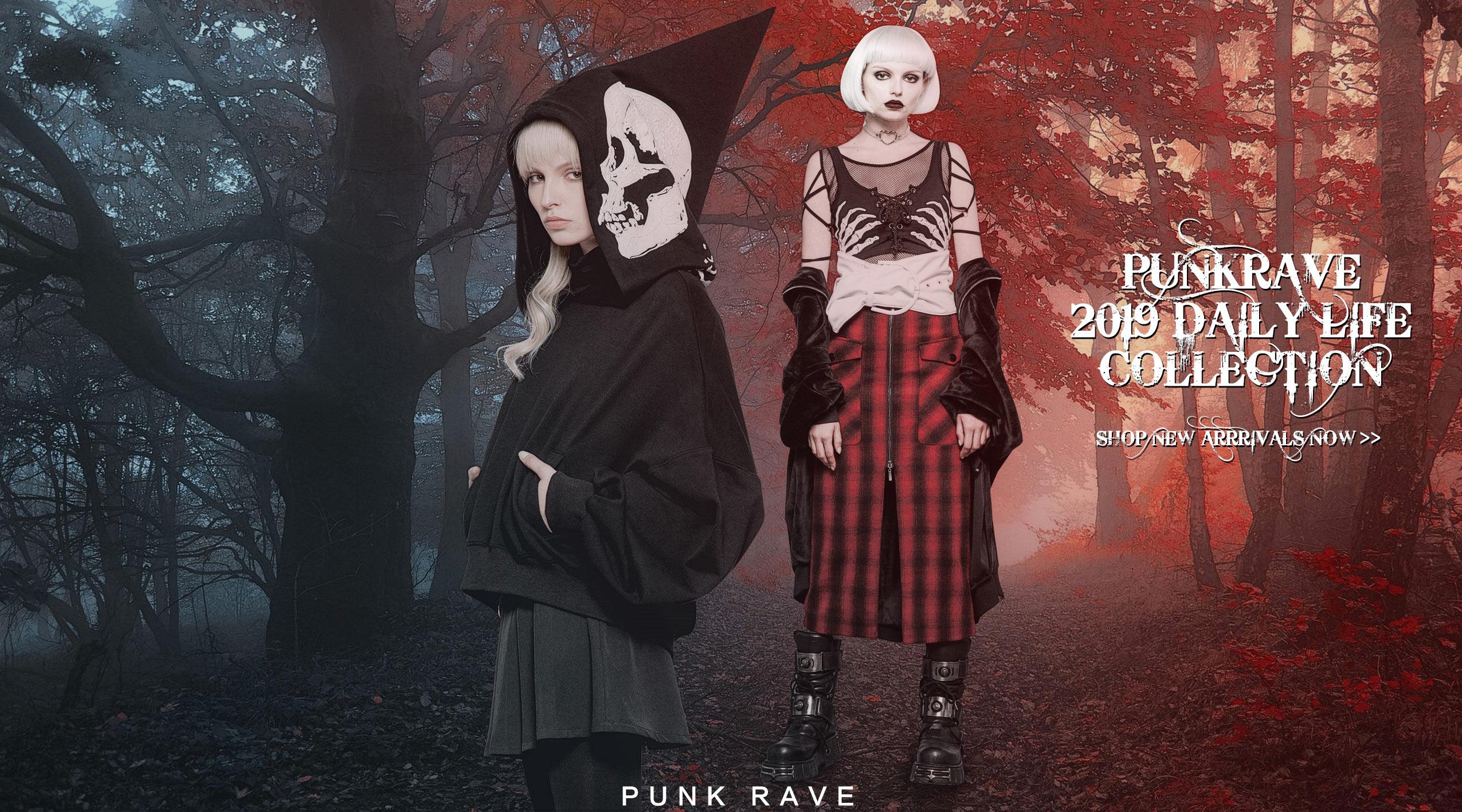 Official Punk Rave & Pyon Pyon Gothic Fashion and Punk,Lolita Style Designs