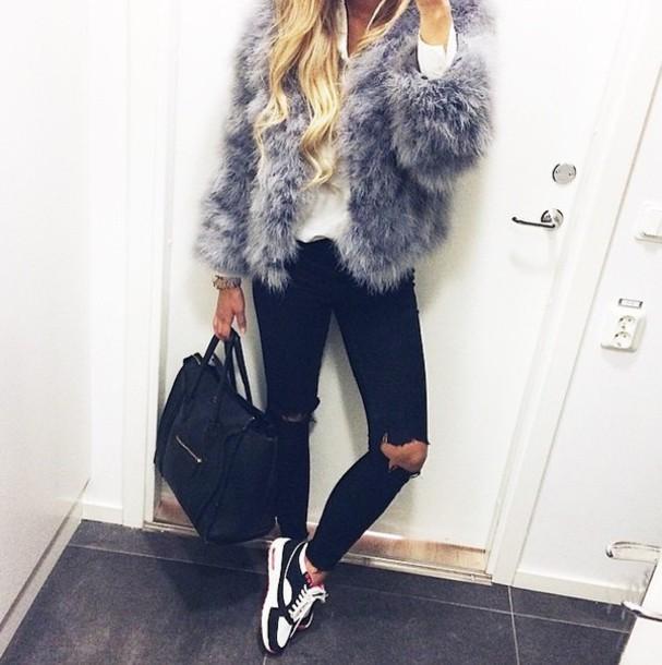 coat grey coat