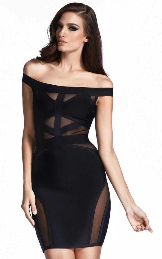 Black cutout mesh dress · summah breeeze · online store powered by storenvy