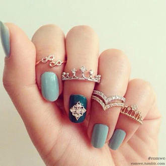 jewels ring crown infinity ring tumblr accessory fashion jewelry ring