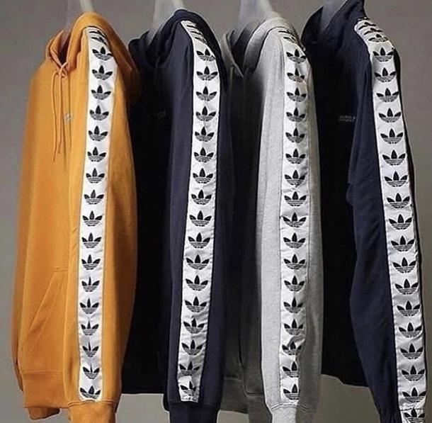 sweater adidas hoodie yellow grey navy blue adidas originals firebird adidas  firebird 6355dc14f3