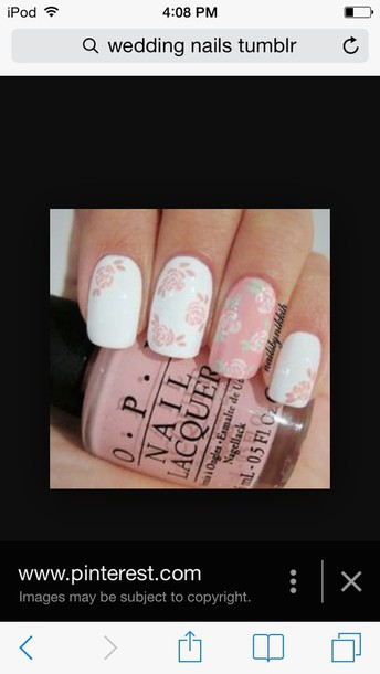 nail accessories floral nails