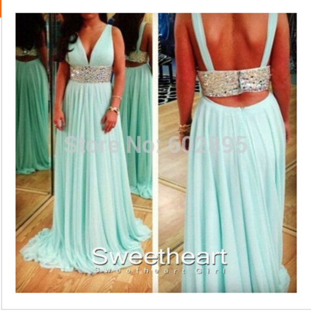 Mint green dresses plus size