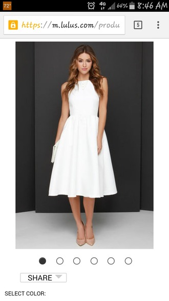 dress lulus white dress graduation dress