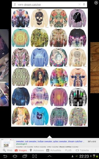 sweater pull pullover crewneck hoodie streetwear tumblr tumblr girl graphics illuminati swag weed cats psychadelic psychadpsychadelic print princess catwang skull galaxy galaxy print galaxy sweater cross oversized oversized sweater winter outfits autumn