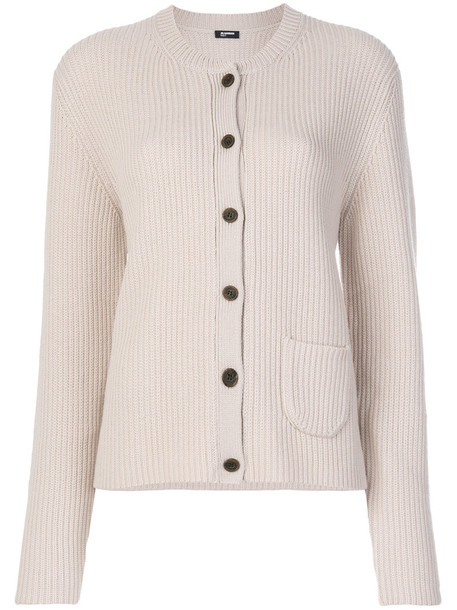 Jil Sander Navy cardigan cardigan women wool purple pink sweater