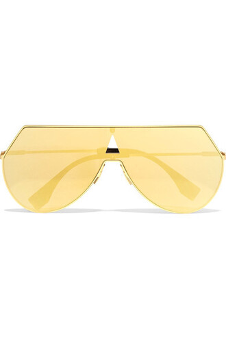 style sunglasses mirrored sunglasses gold