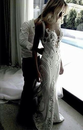 dress j'aton couture wedding dress clothes wedding dress wedding clothes white white dress