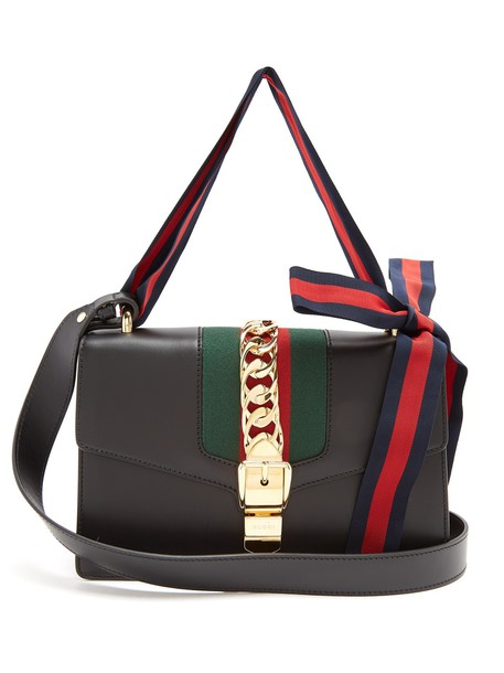 gucci bag shoulder bag leather black