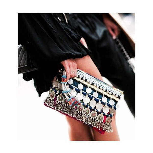 bag clutch hippie ibiza