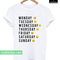Emotion days unisex t-shirt
