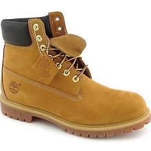 Timberland Mens 6 Inch Premium Tan Work Boots