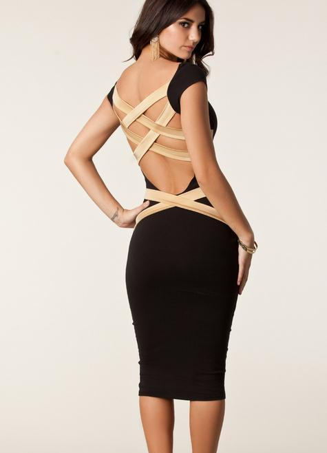 Cute backless sexy dress