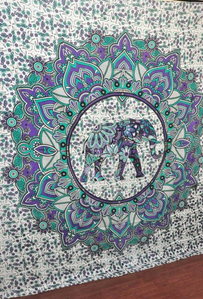 Elephant Wall Decor tapestry wall decor