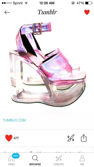 shoes pink princess kawaii kawaii shoes barbie doll barbie heels sexy shoes style bad bitches link up high heels hologram metallic fashion cute high heels baddies pumps cute sandals summer wedges hot hot pink