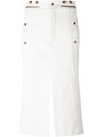 skirt women white cotton