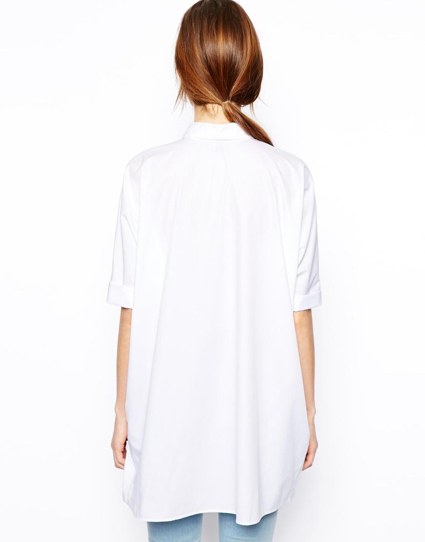ASOS Oversize Batwing Shirt at asos.com