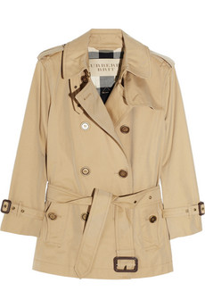 Burberry Brit | Short trench coat | NET-A-PORTER.COM