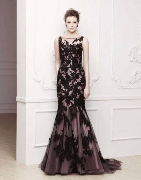dress black prom dress evening prom dresses prom lace mermaid purple prom dress evening dress evening dress black lace dress mermaid prom dress appliques prom dress mermaid/trumpet black prom dress lace dress black dress