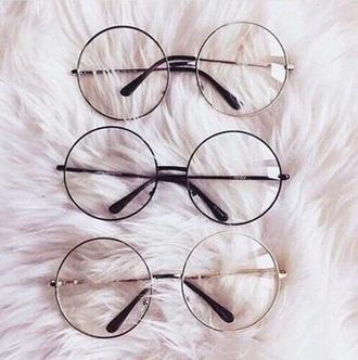 sunglasses girly round sunglasses black