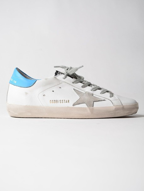Golden goose sneakers. sneakers white blue shoes