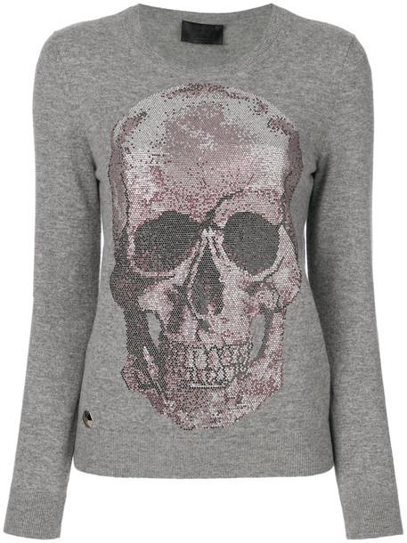 PHILIPP PLEIN jumper women grey sweater