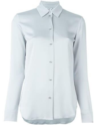 shirt classic grey top
