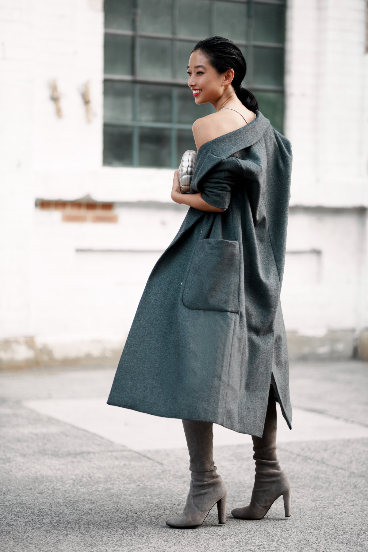 Cold Shoulder   Shine By Three