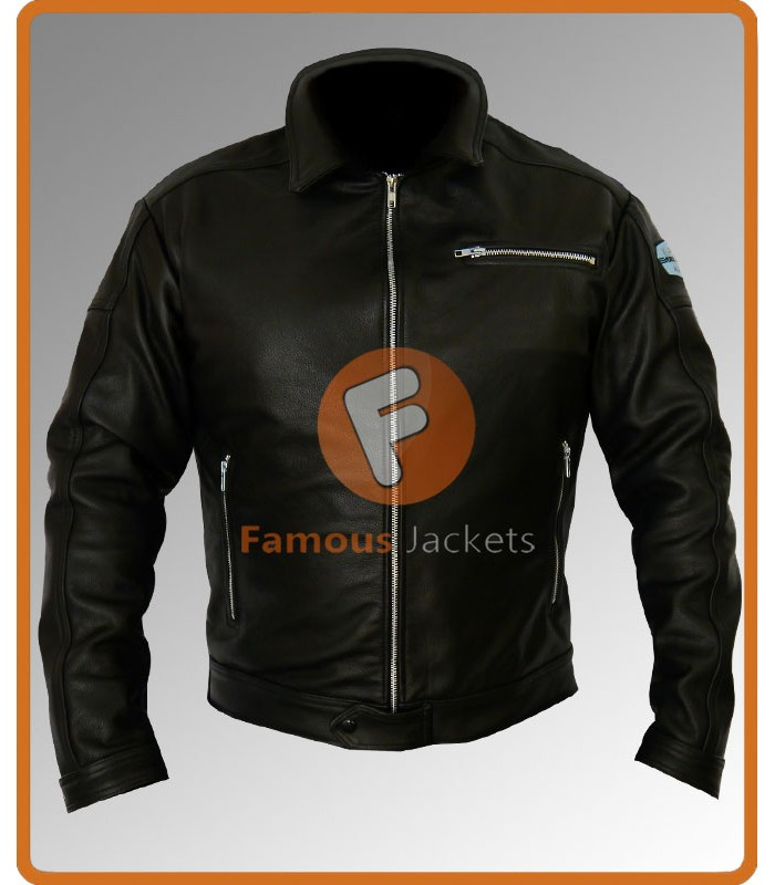 Replica Aaron Paul Tobey Marshall Need For Speed Leather Jacket