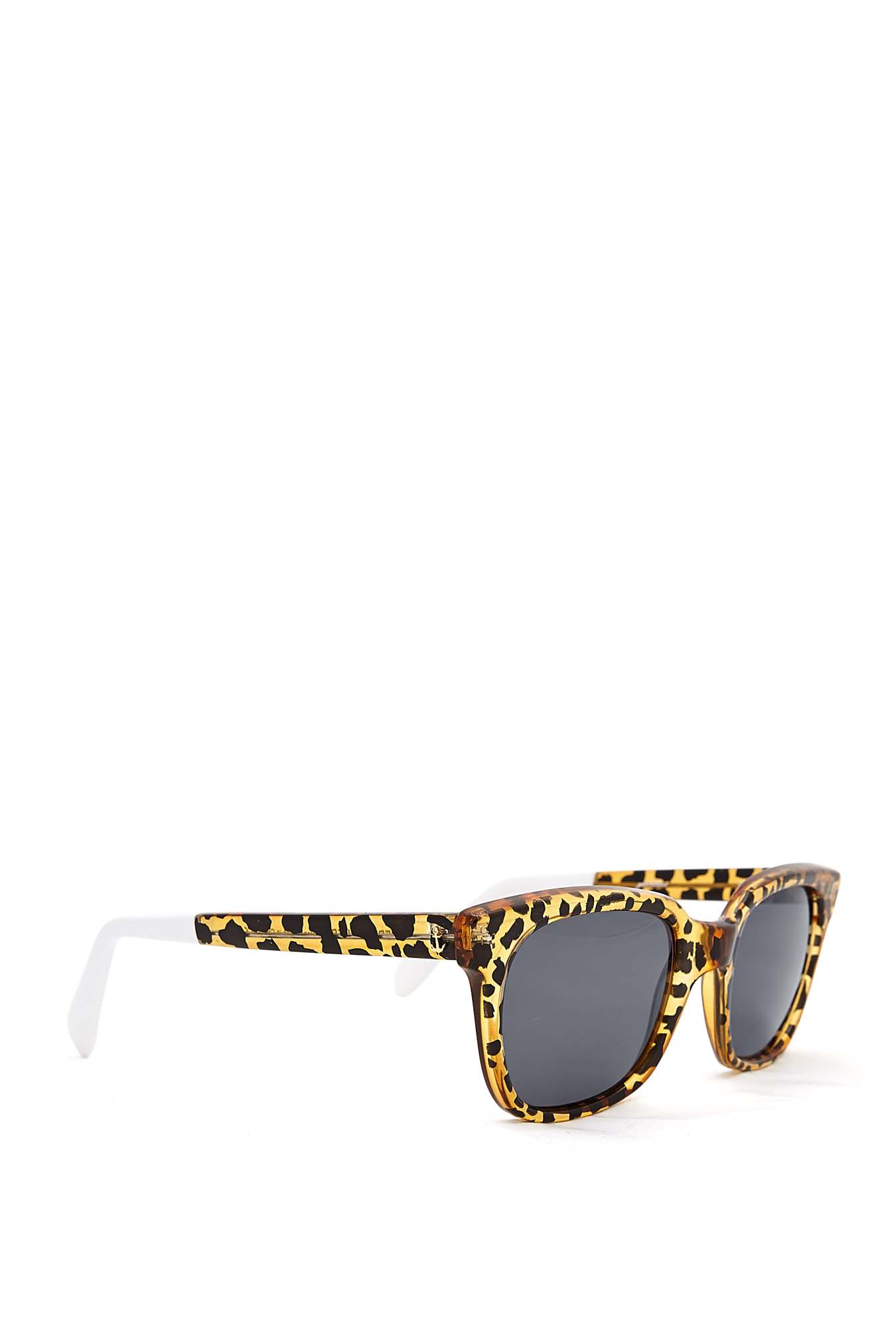 Sheriff & Cherry | Honey Wild Cat Leopard Plastic Sunglasses by Sheriff & Cherr