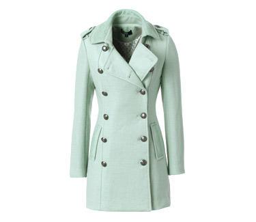 Breasted coat