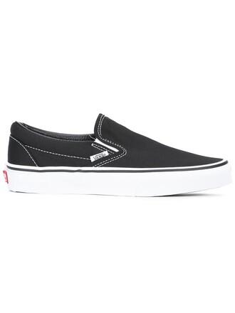 women classic sneakers black shoes