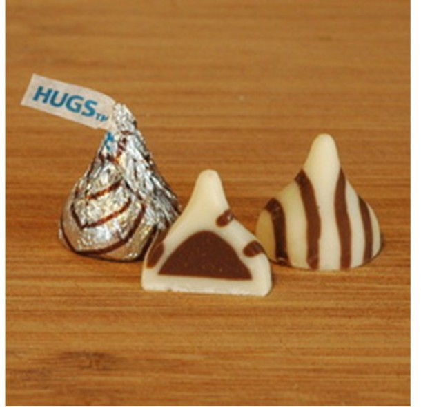 home accessory candy white brown chocolate kiss