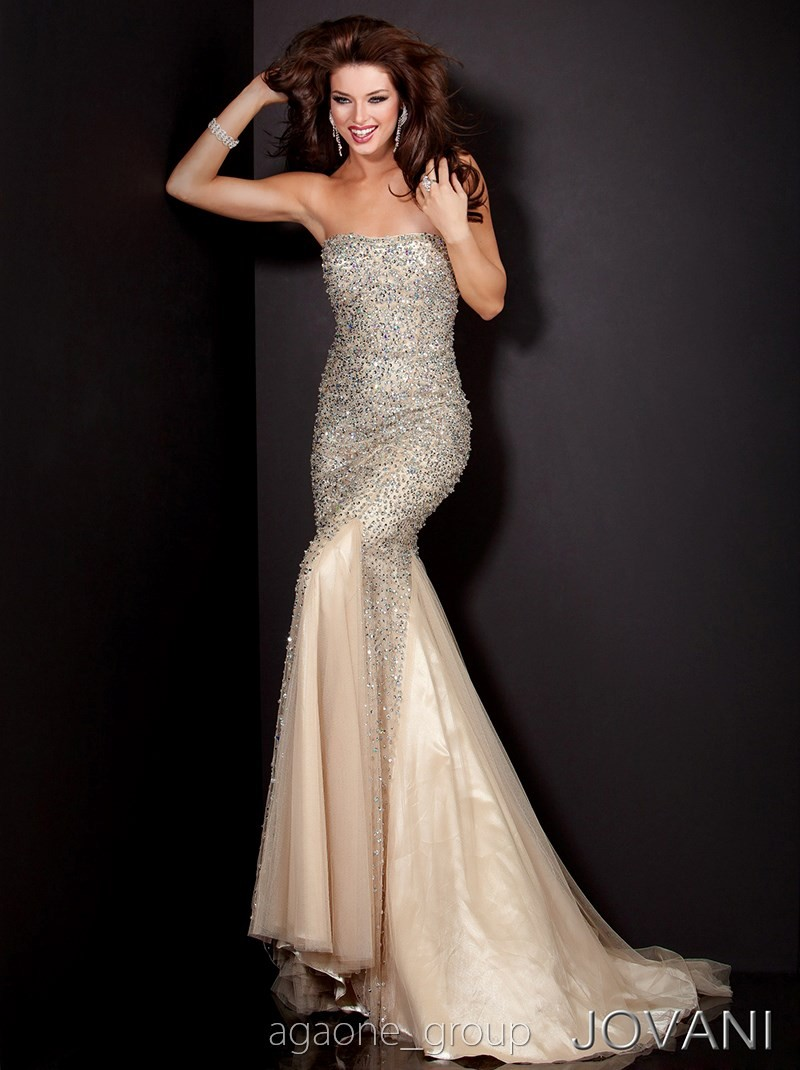JOVANI Prom Dress 4426 Lowest Price GUARANTEE 0 2 4 6 8 10 12 14 Champagne | eBay